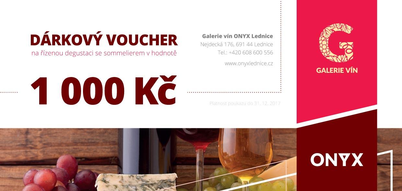 Voucher Onyx 1000 Kč